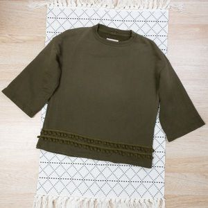 Current/Elliott The Pompoms Sweatshirt Sweater